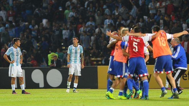 Argentina perdió ante Paraguay y sigue en zona de repechaje