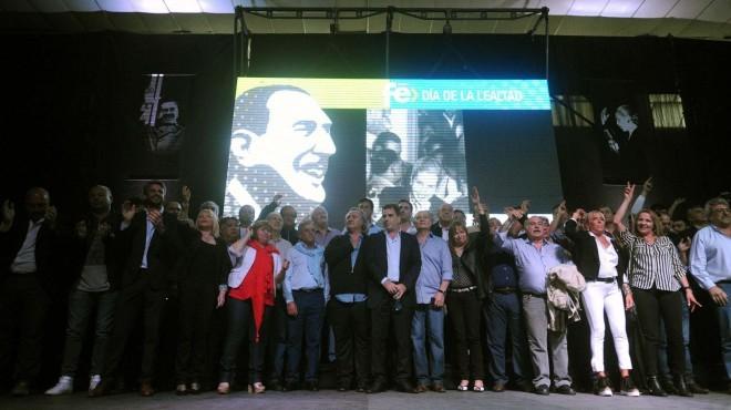 El Día de la Lealtad mostró las divisiones del peronismo