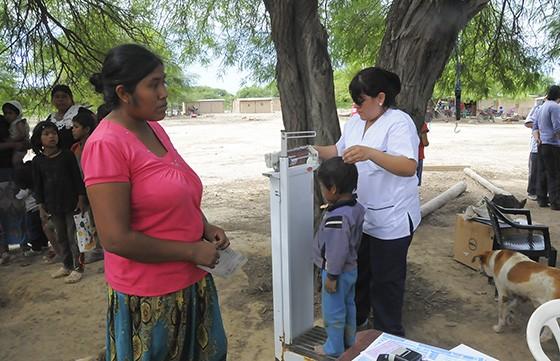 Se capacitó a equipos de salud del norte sobre el sistema de vigilancia nutricional
