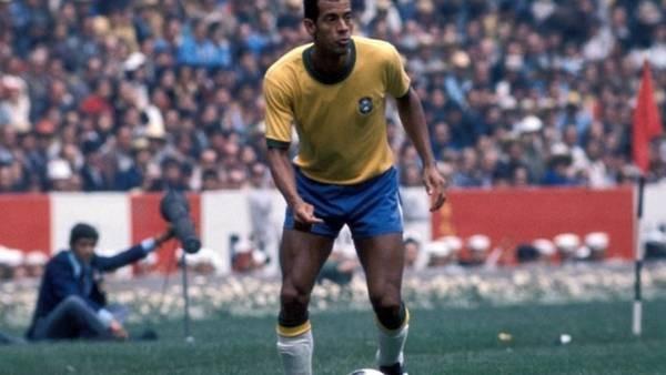 Brasil: murio el capitán campeón del Mundo en el 70
