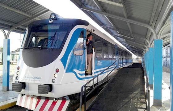 Las nuevas formaciones del tren Güemes- Salta ya se encuentran operativas