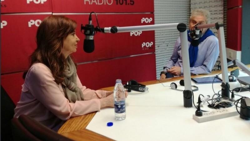 Cristina: No creo que el periodismo tenga libertad para trabajar en Argentina