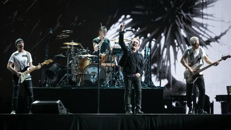 La banda U2 se presenta en San Pablo