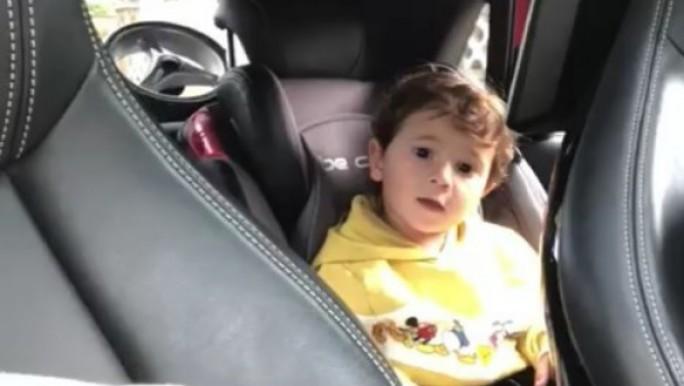 Messi publicó un tierno video de Mateo cantando