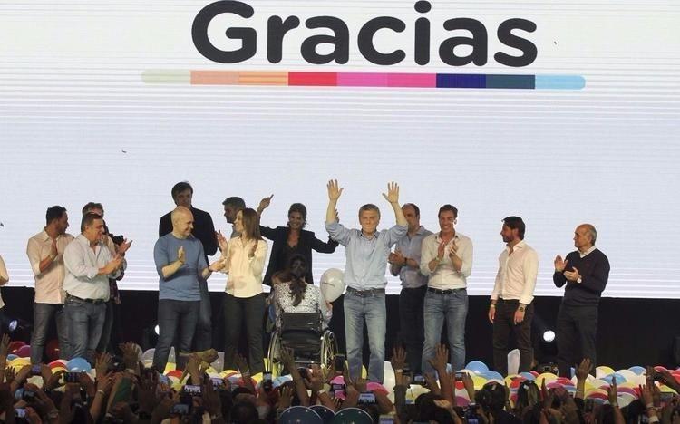 Macri se impuso así en los cinco principales distritos electorales y venciò a Cristina en Provincia