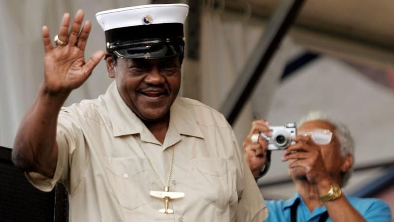 El padre del rock and roll Fats Domino muere a los 89 años