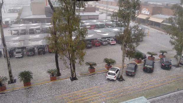Fuerte tormenta con granizo azotó a San Luis y Córdoba