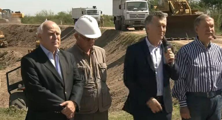 Mauricio Macri:hay que transformar el agua de una pesadilla a una oportunidad