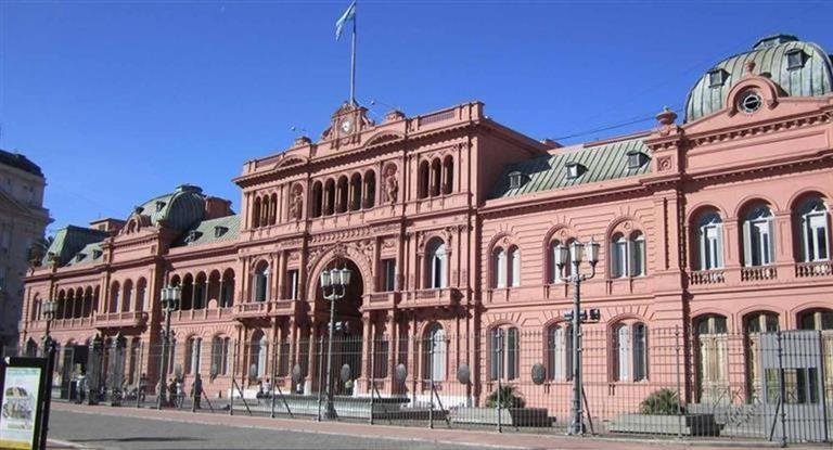 Casa Rosada es amenaza de bomba  y llega el 911