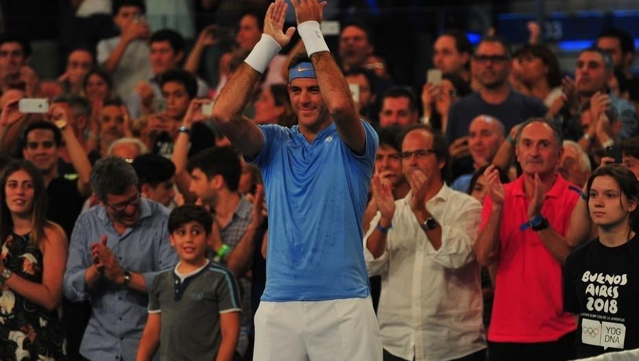 Del Potro en su debut en el ATP 500