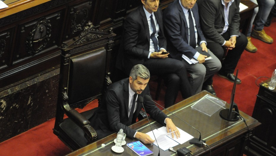 Peña evitó dar cifras sobre economía en Diputados