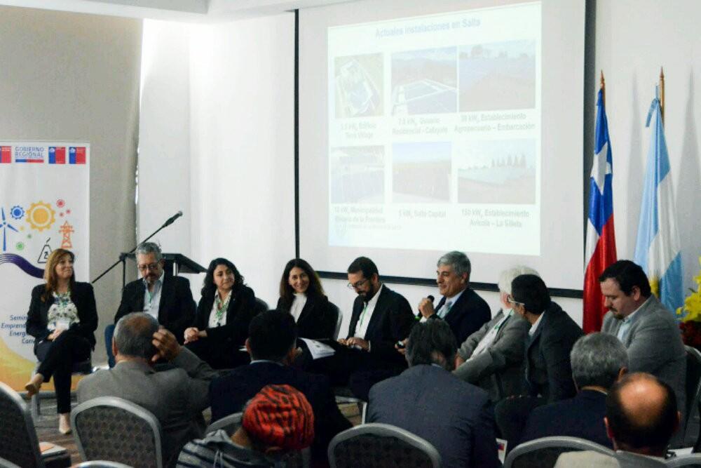 La provincia presentó SISOL en Chile