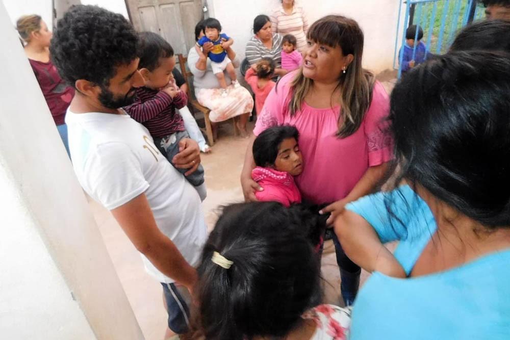 Se evacuadas 386 personas en Apolinario Saravia