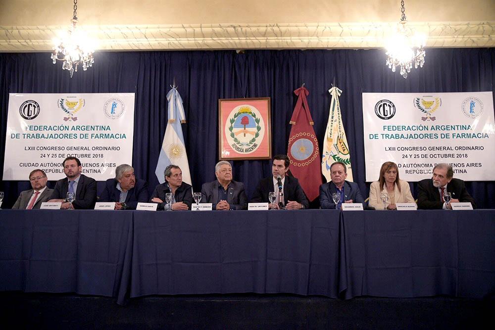 Urtubey disertó en la apertura Congreso de FATFA