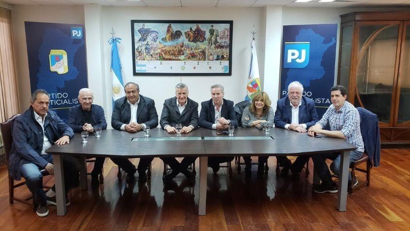 Felipe Solá se sumó a la mesa chica del PJ Nacional