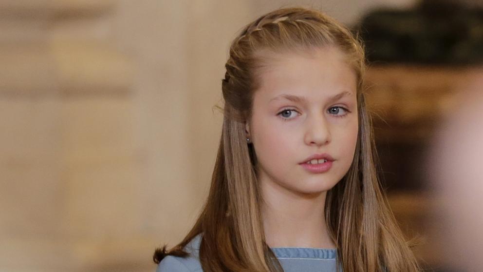 La princesa Leonor intervendrá en un acto oficial