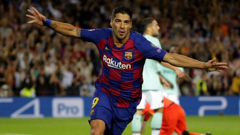 El Barcelona festejó con un doblete de Suárez