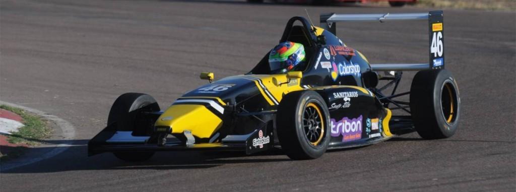 Jeremías Olmedo logró subir al podio en la FR 2,0