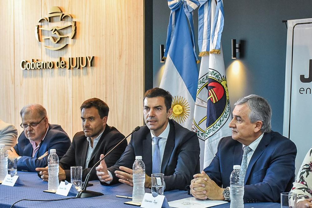 Urtubey y Morales presentan la Copa Norte de Fútbol