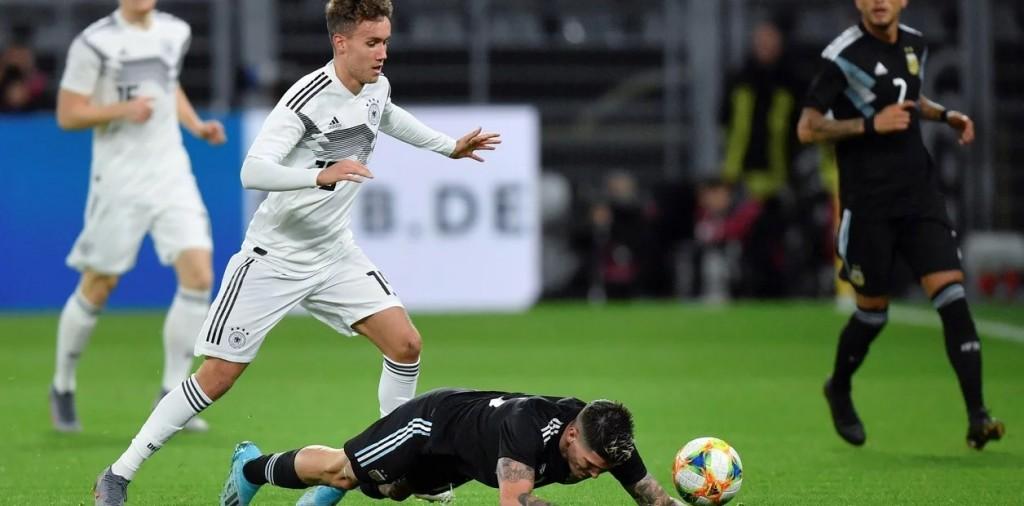 Argentina igualo 2 a 2 ante Alemania en Dortmund