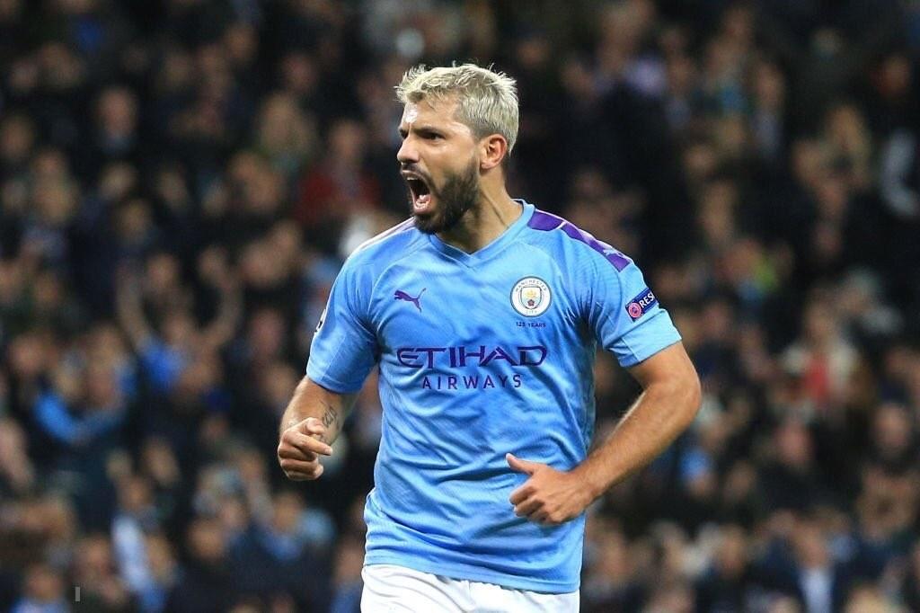 """Sergio """"Kun"""" Agüero con golada en el triunfo de Manchester City"""
