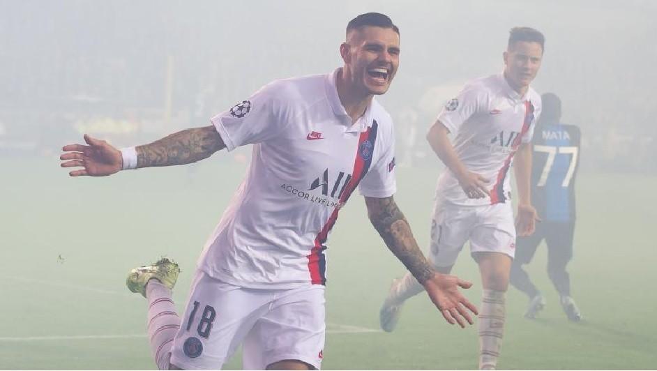 El PSG venció por 5 a 0 al Brujas