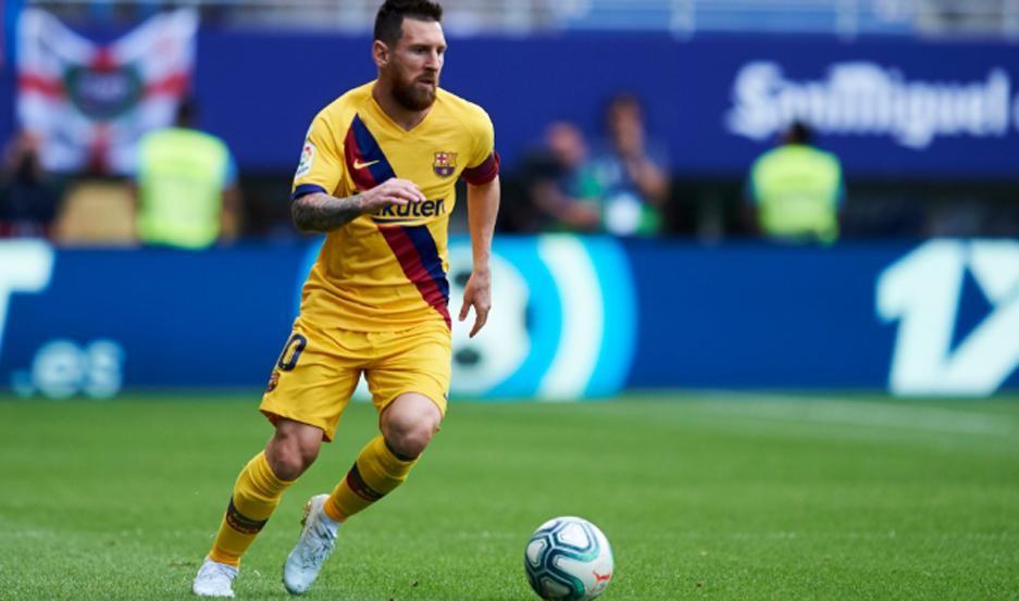 El Barcelona  con Messi derrota al Slavia Praga