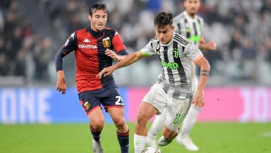 Juventus venció a Genoa en el final y sigue siendo líder