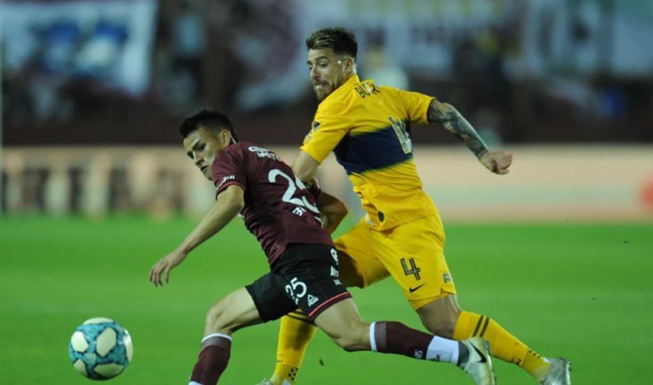 Lanús vence a Boca con goles de Sand y Auzqui