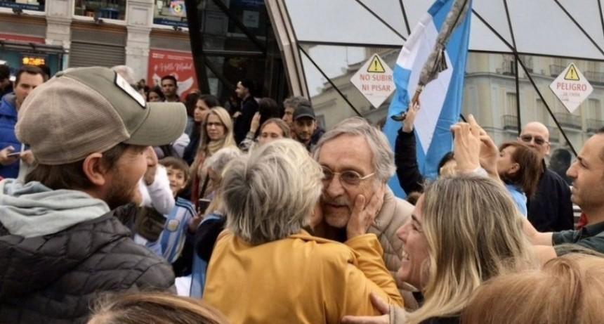 La marcha del millón a favor de la reelección de Mauricio Macri