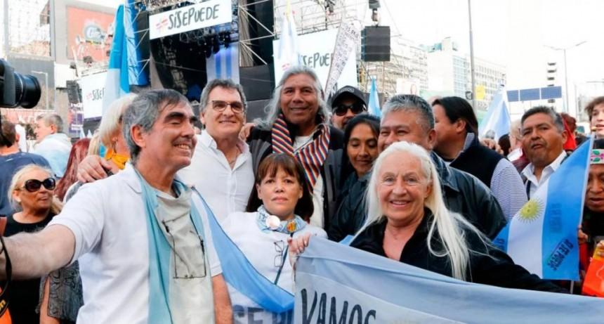 La Marcha del Millón encabezada por Macri en el Obelisco EN VIVO