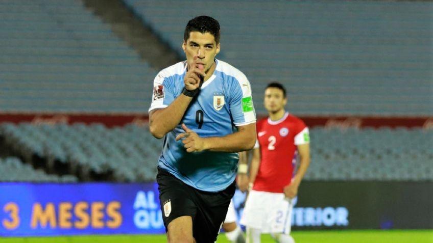 Uruguay le ganó a Chile en el Estadio Centenario