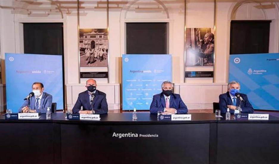 Alberto Fernández anunció la nueva etapa de cuarentena nacional