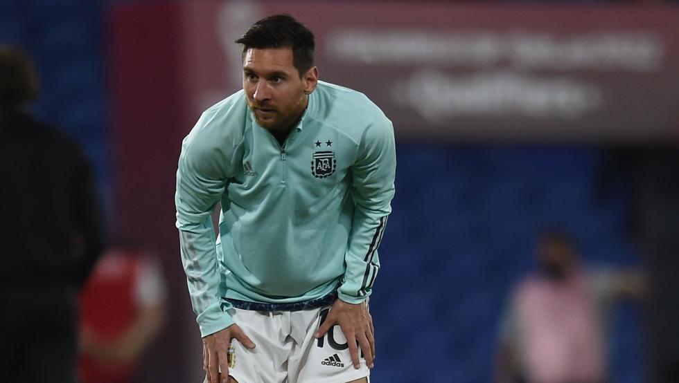 Messi debe superar el mal de altura