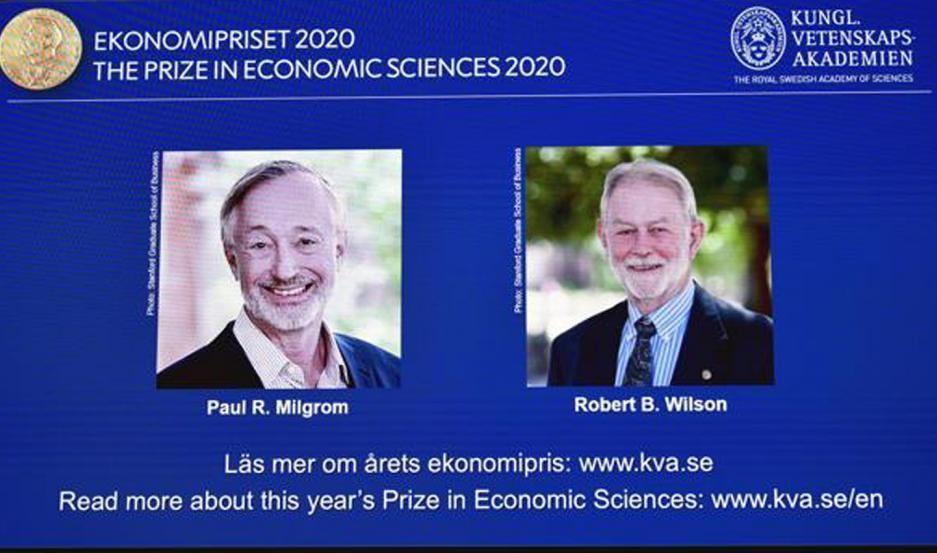 El Premio Nobel de Economía fue para dos expertos en subastas
