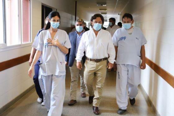 Gustavo Sàenz visitò la terapia intensiva del Papa Francisco
