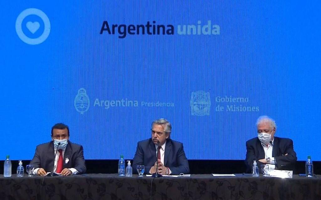 Fernandez :cuarentena por 14 días en ocho provincias y en el AMBA
