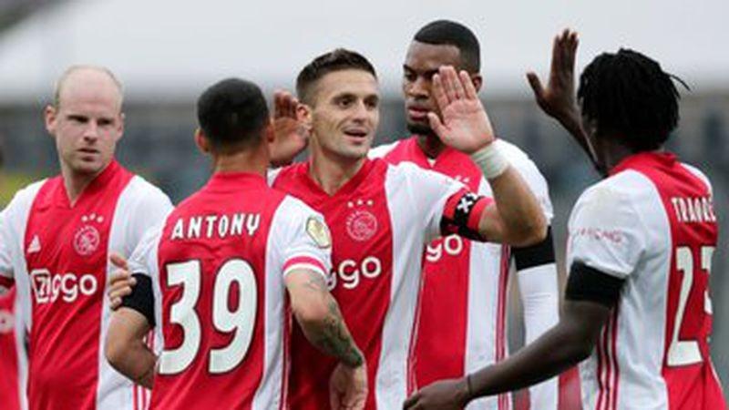 Ajax aplastó con récord 'Guinness' al VVV-Venlo