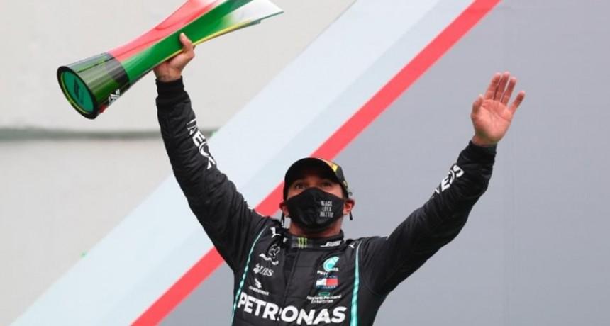 Lewis Hamilton logra el récord de 92 victorias en el GP de Portugal de Fórmula 1