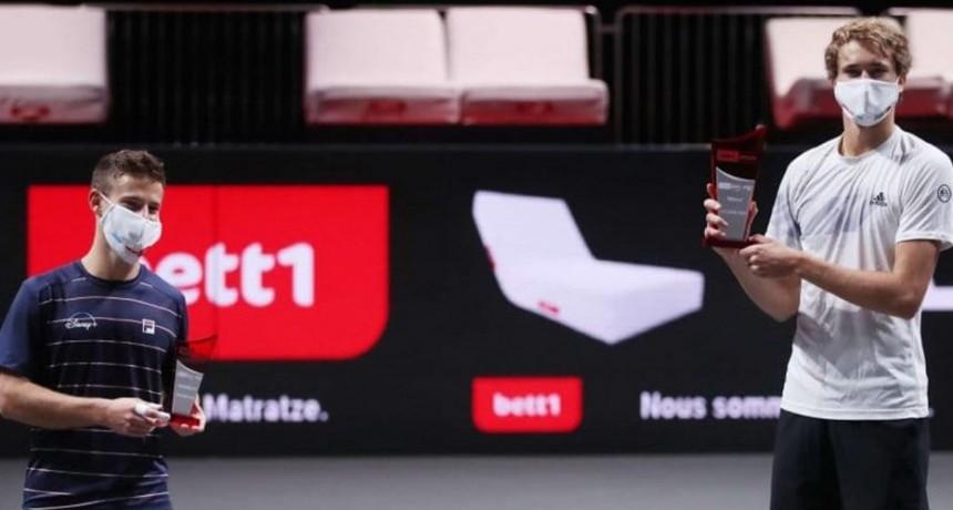 Schwartzman perió ante Zverev en la final del ATP 250 de Colonia