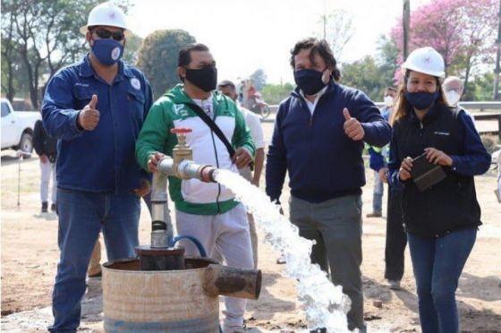 Se inaugurarán pozos de agua en Santa Victoria Este y Rivadavia