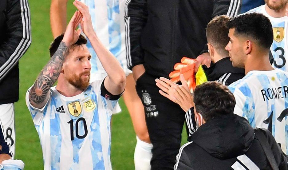 Argentina goleó a Uruguay por la tercera fecha hacia el Mundial de Qatar 2022