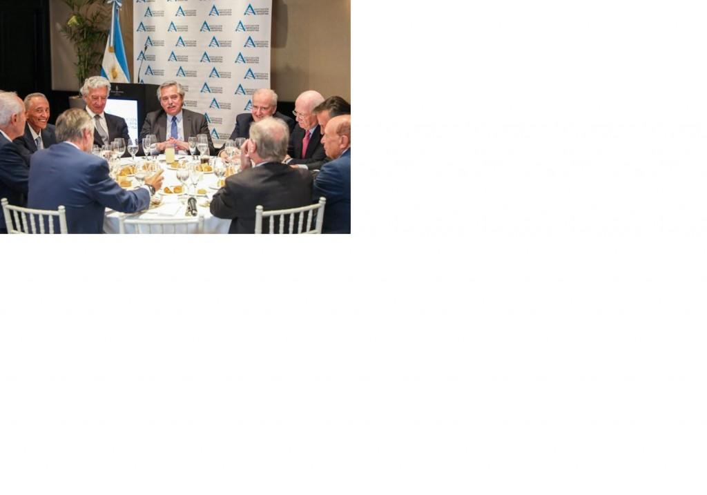 Empresarios fueron recibidos por el Presidente