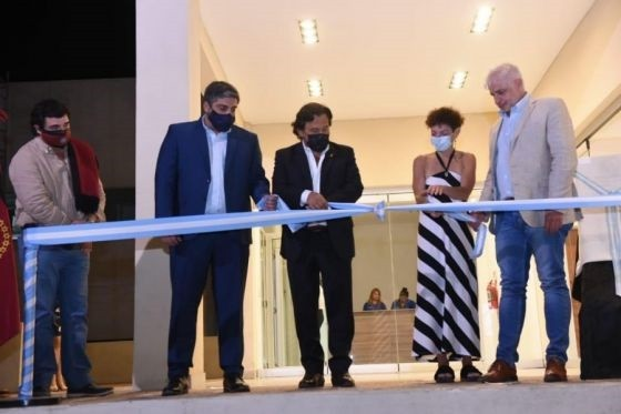 Sáenz inauguró la Casa de la Cultura de Tartagal