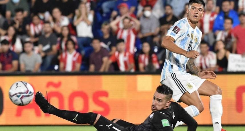 Argentina y Paraguay igualaron en  las Eliminatorias Sudamericanas