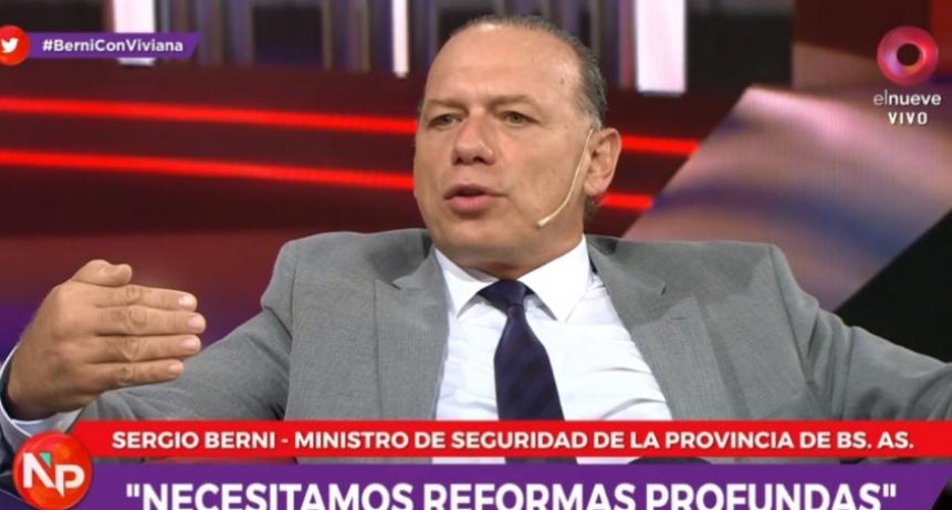 Sergio Berni aseguró que los ataques de los mapuches son actos terrorista