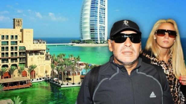 Rocío Oliva viaja a Dubai