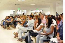 Dictan  curso sobre salud y nutrición en el Centro Cívico Municipal