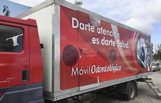 Los camiones odontológico y ginecológico atenderán desde hoy en el Valle de Lerma