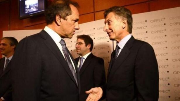 Expectativa en la previa al histórico debate entre Scioli y Macri de cara al balotaje